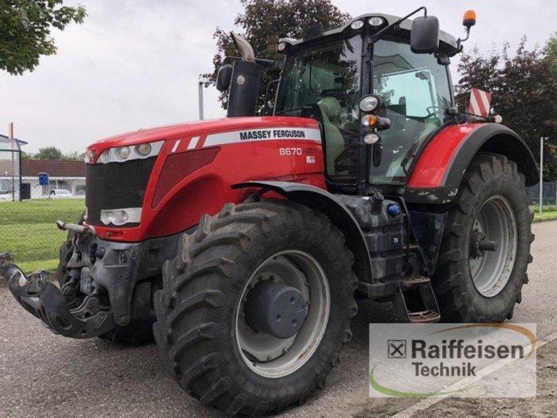 Traktor des Typs Massey Ferguson 8670 Dyna VT, Gebrauchtmaschine in Elmenhorst-Lanken (Bild 1)