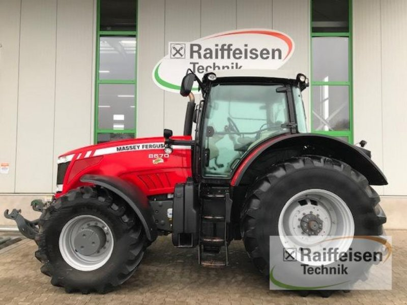 Traktor des Typs Massey Ferguson 8670, Gebrauchtmaschine in Gudensberg (Bild 1)