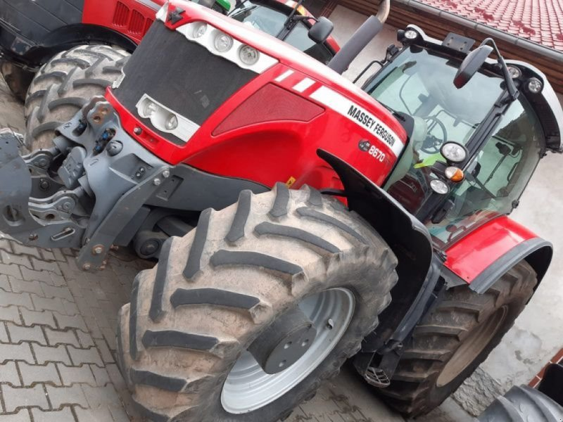 Traktor tipa Massey Ferguson 8670, Gebrauchtmaschine u Markersdorf (Slika 14)