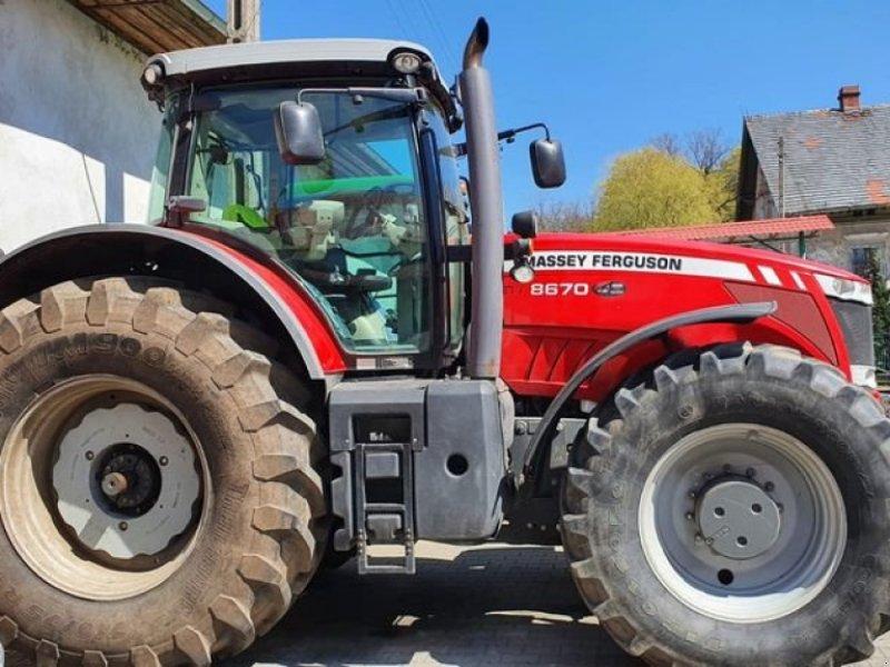 Traktor tipa Massey Ferguson 8670, Gebrauchtmaschine u Markersdorf (Slika 1)