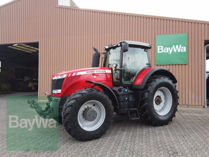 Traktor des Typs Massey Ferguson 8690 DYNA-VT, Gebrauchtmaschine in Manching (Bild 1)