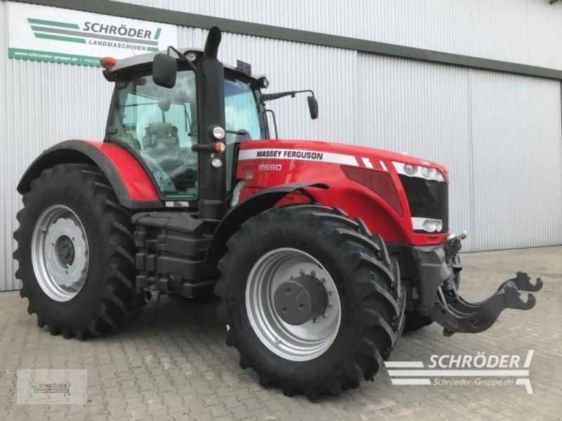 Traktor des Typs Massey Ferguson 8690 DYNA-VT, Gebrauchtmaschine in Wildeshausen (Bild 1)
