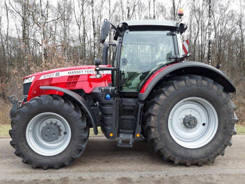 Traktor des Typs Massey Ferguson 8727 S DynaVT Exclusive, Vorführmaschine in Itterbeck (Bild 1)