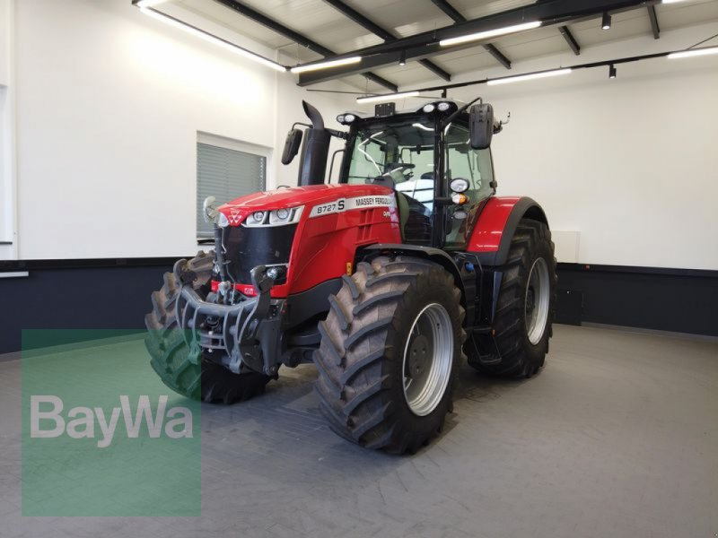 Traktor des Typs Massey Ferguson 8727S DYNA-VT EXCLUSIVE, Gebrauchtmaschine in Manching (Bild 1)
