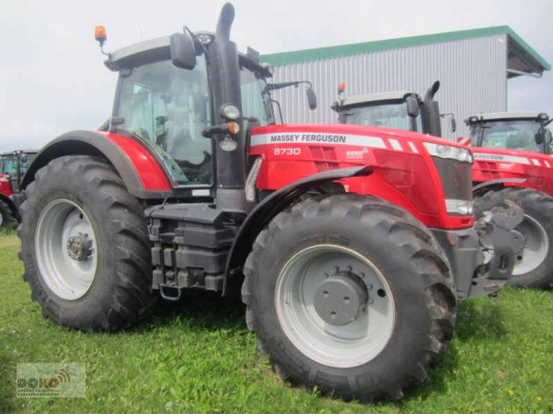Traktor des Typs Massey Ferguson 8730 DVT Exclusive, Neumaschine in Schoenberg (Bild 1)