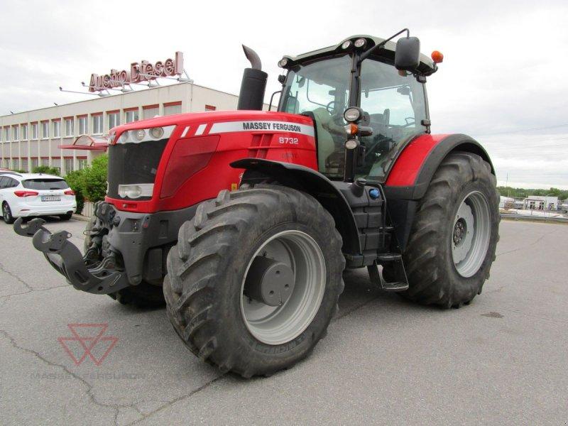 Traktor des Typs Massey Ferguson 8732 DVT, Gebrauchtmaschine in Schwechat (Bild 1)