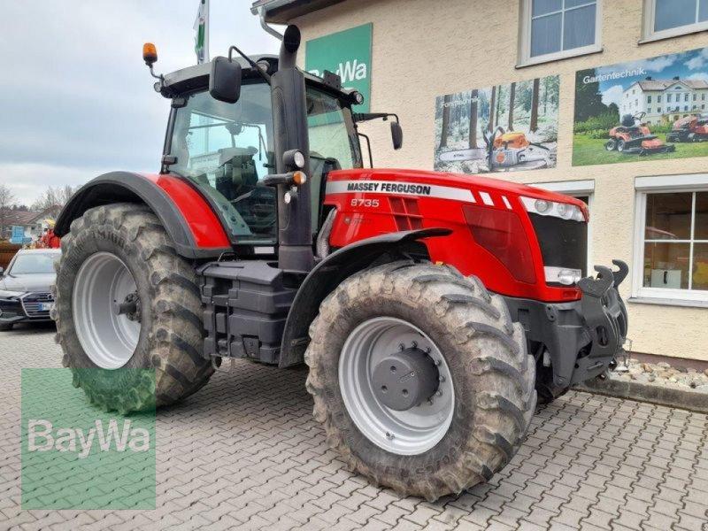 Traktor des Typs Massey Ferguson 8735 DYNA-VT EXCLUSIVE, Gebrauchtmaschine in Pfarrkirchen (Bild 1)