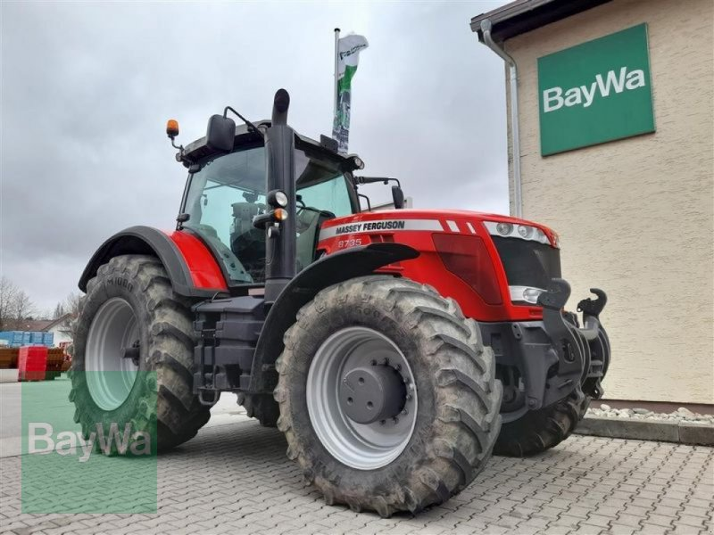 Traktor du type Massey Ferguson 8735 DYNA-VT EXCLUSIVE, Gebrauchtmaschine en Pfarrkirchen (Photo 1)