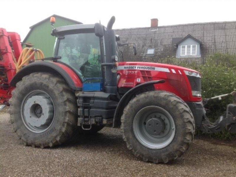 Traktor des Typs Massey Ferguson 8737 DYNA VT EXCLUSIVE m/cpl. RTK autostyringsanlæg, Gebrauchtmaschine in Ringe (Bild 1)