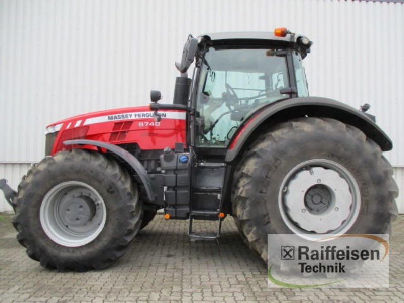 Traktor des Typs Massey Ferguson 8740 Dyna-VT, Gebrauchtmaschine in Holle (Bild 1)