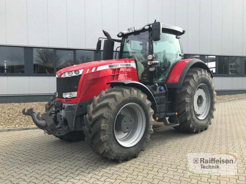 Traktor des Typs Massey Ferguson 8740 MR Dyna-VT, Vorführmaschine in Tülau-Voitze (Bild 1)