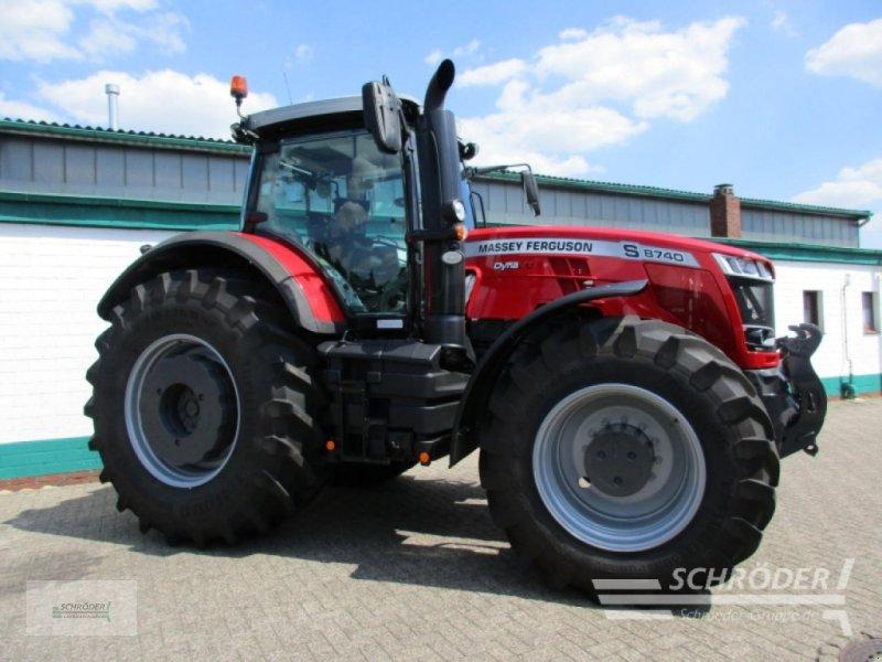 Traktor des Typs Massey Ferguson 8740 S Dyna-VT Exclusive, Gebrauchtmaschine in Westerstede (Bild 1)