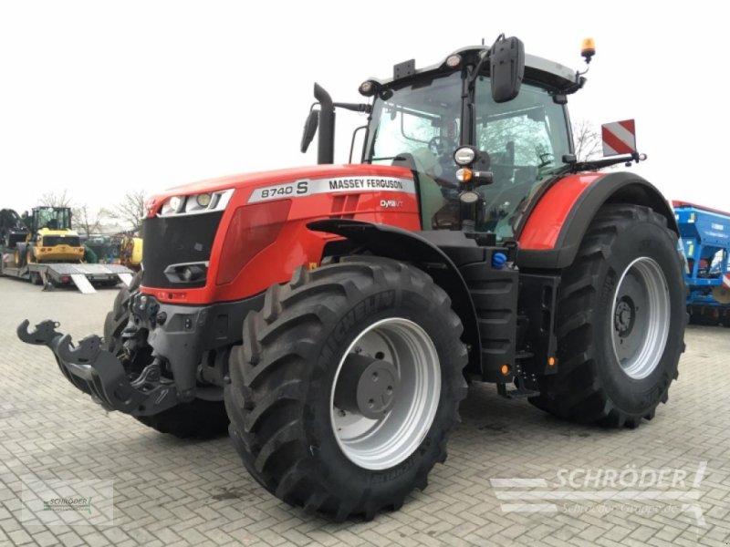 Traktor типа Massey Ferguson 8740 S Dyna-VT New Exclusive, Gebrauchtmaschine в Twistringen (Фотография 1)