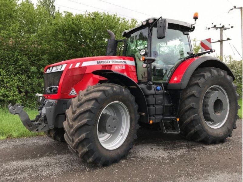 Traktor typu Massey Ferguson 8740, Gebrauchtmaschine w Grantham (Zdjęcie 1)