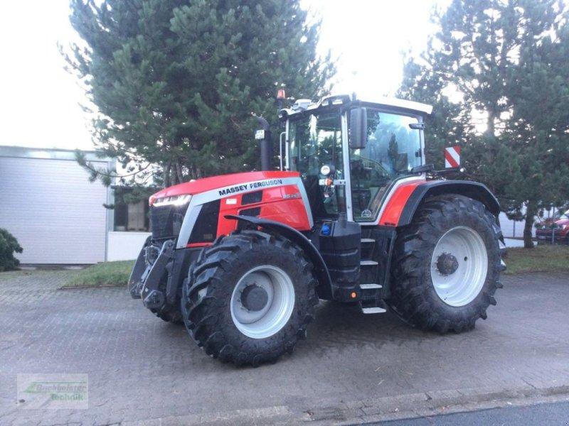 Traktor des Typs Massey Ferguson 8S.265 EXCLUSIVE  E-Power, Neumaschine in Eldagsen (Bild 1)