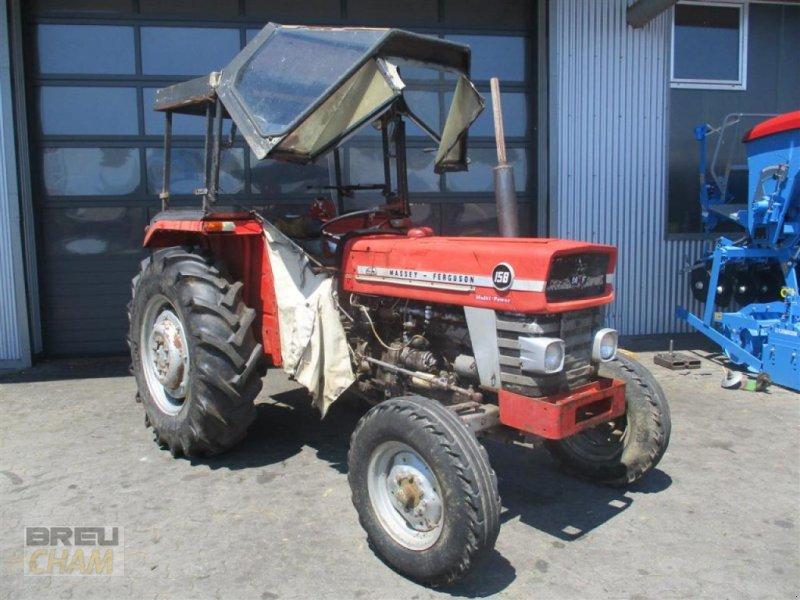 Traktor des Typs Massey Ferguson MF 158 Multi Power, Gebrauchtmaschine in Cham (Bild 1)