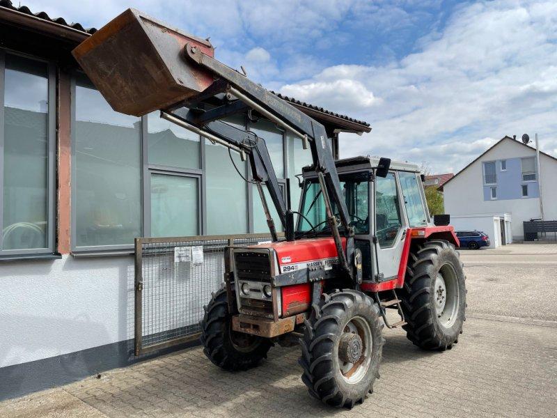 Traktor des Typs Massey Ferguson MF 294 AS-S Allrad Traktor Schlepper Frontlader, Gebrauchtmaschine in Bühl (Bild 1)