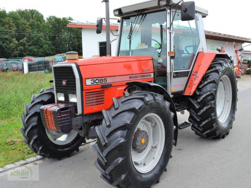 Traktor des Typs Massey Ferguson MF 3085 Dynashift Euro-Line mit Druckluftbremse und vier-Lastschaltstufen - im guten Zustand, Gebrauchtmaschine in Burgrieden (Bild 1)