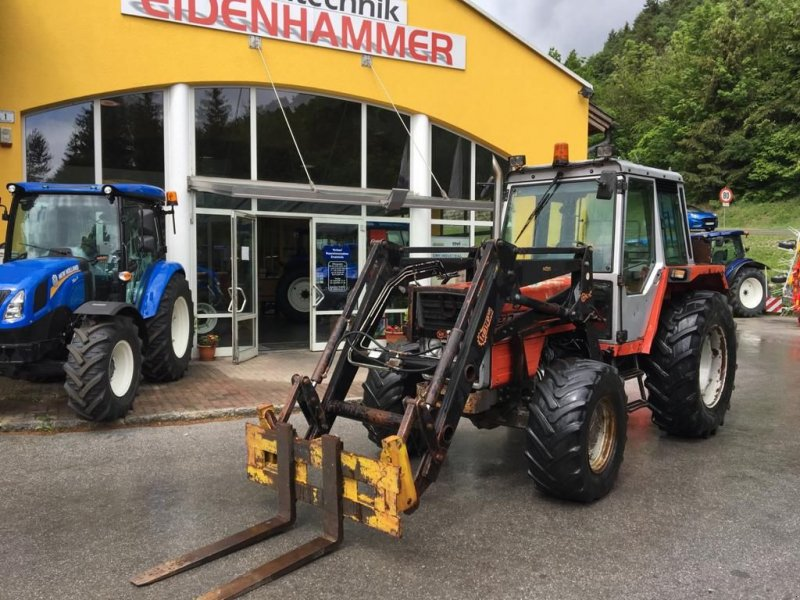 Traktor des Typs Massey Ferguson MF 377, Gebrauchtmaschine in Burgkirchen (Bild 1)