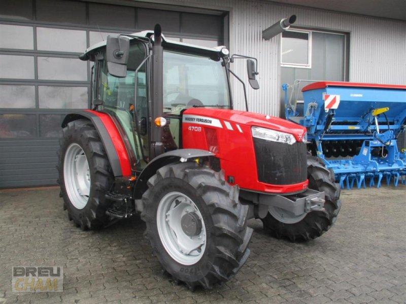 Traktor типа Massey Ferguson MF 4708, Gebrauchtmaschine в Cham (Фотография 1)