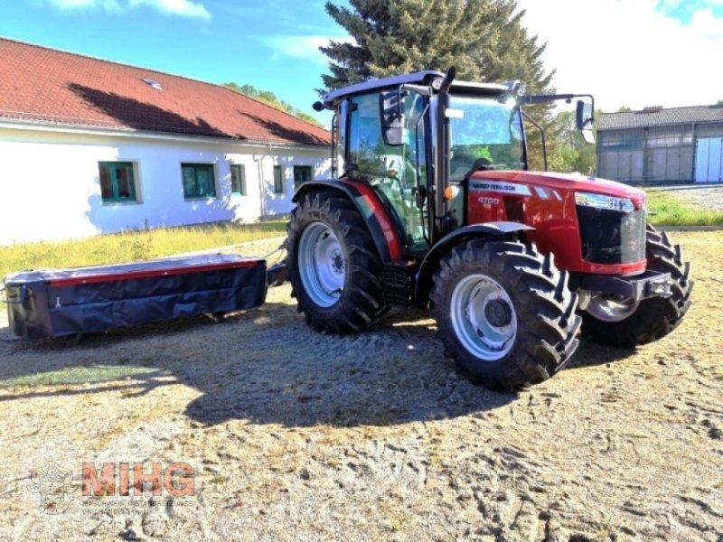 Traktor des Typs Massey Ferguson MF 4709, Neumaschine in Dummerstorf OT Petschow (Bild 2)