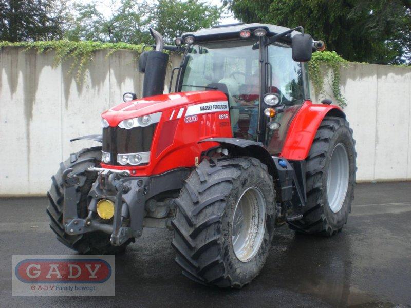 Traktor des Typs Massey Ferguson MF 6616 Dyna-VT Efficient, Gebrauchtmaschine in Lebring (Bild 1)