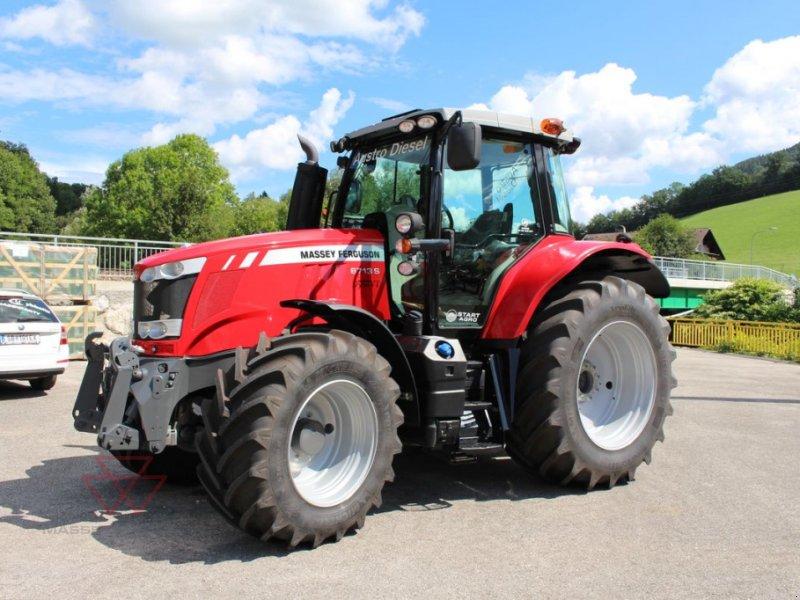 Traktor des Typs Massey Ferguson MF 6713 S Dyna-VT Exclusive, Neumaschine in Schwechat (Bild 1)