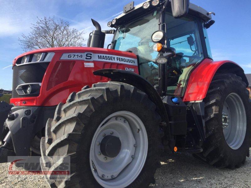 Traktor des Typs Massey Ferguson MF 6714 Dyna 6, Gebrauchtmaschine in Salzkotten (Bild 1)
