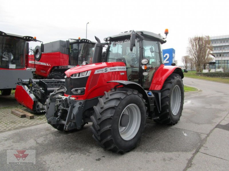 Traktor типа Massey Ferguson MF 6715 S Dyna-VT Exclusive, Vorführmaschine в Schwechat (Фотография 2)