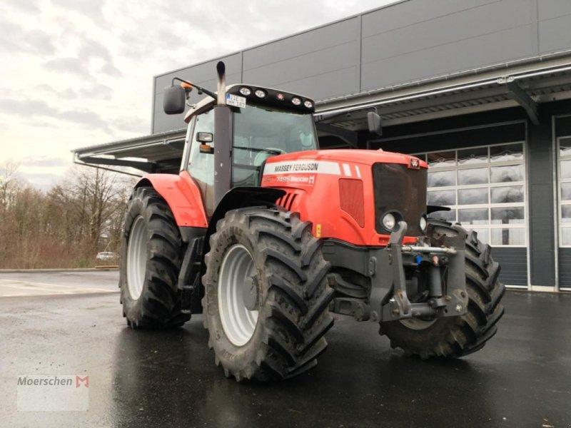 Traktor des Typs Massey Ferguson MF 7495 Comfort, Gebrauchtmaschine in Tönisvorst (Bild 1)