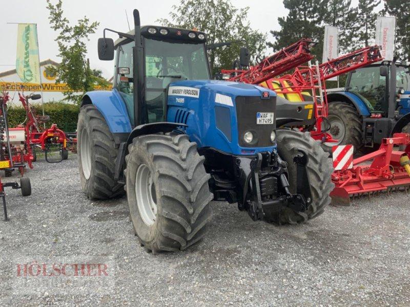 Traktor des Typs Massey Ferguson MF 7495, Gebrauchtmaschine in Warendorf (Bild 1)