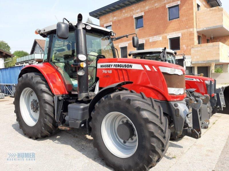 Traktor des Typs Massey Ferguson MF 7618 Dyna 6 Exclusiv, 50 km/h, Gebrauchtmaschine in Vorchdorf (Bild 1)