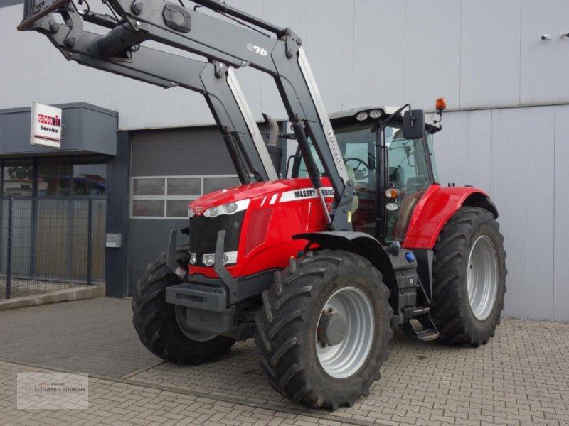 Traktor des Typs Massey Ferguson MF 7620 Dyna-6 Quicke Q76 Lader, Gebrauchtmaschine in Borken (Bild 1)