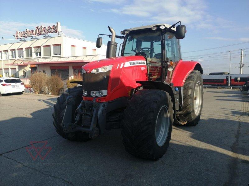 Traktor des Typs Massey Ferguson MF 7624 Dyna-VT Efficient, Gebrauchtmaschine in Schwechat (Bild 1)