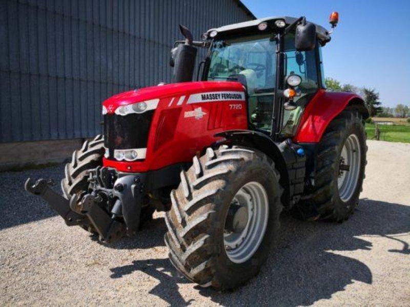 Traktor des Typs Massey Ferguson MF 7720 VT Exclusive, Gebrauchtmaschine in Muespach-le-Haut (Bild 1)