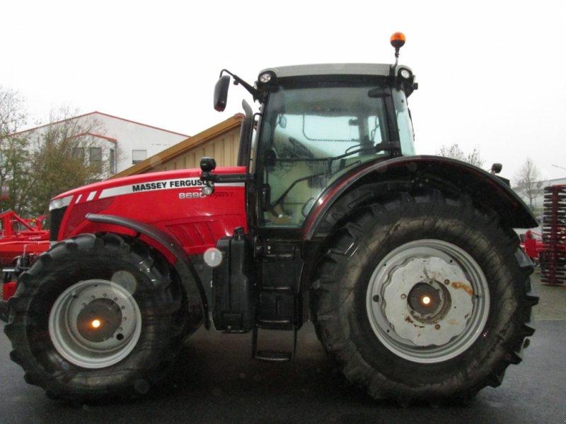 Traktor des Typs Massey Ferguson MF 8690 Dyna VT EX, Gebrauchtmaschine in Wülfershausen an der Saale (Bild 1)