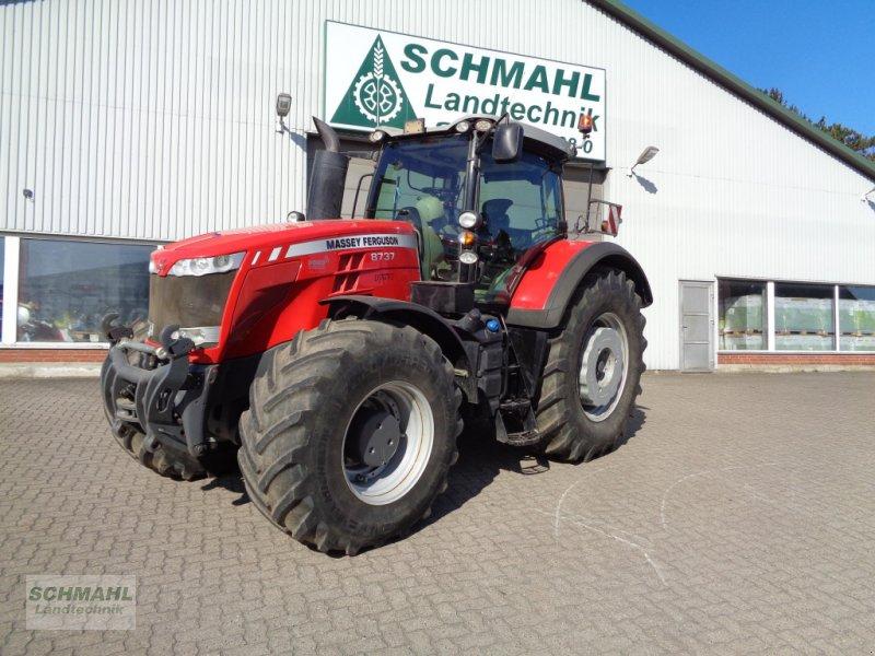 Traktor des Typs Massey Ferguson MF 8737, Gebrauchtmaschine in Oldenburg in Holstein (Bild 1)