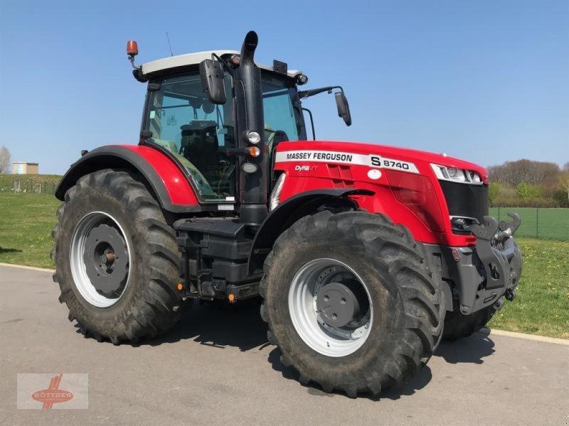 Traktor des Typs Massey Ferguson MF 8740 S Dyna- VT, Vorführmaschine in Oederan (Bild 1)
