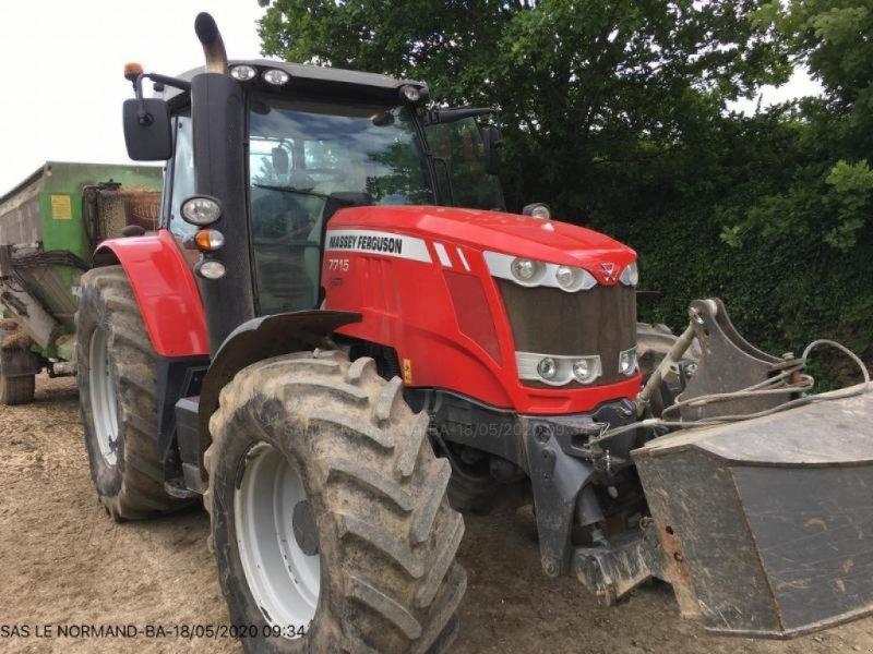 Traktor des Typs Massey Ferguson MF7715, Gebrauchtmaschine in LANDIVISIAU (Bild 1)
