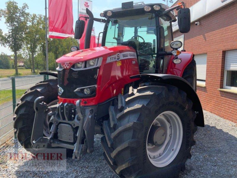 Traktor типа Massey Ferguson MF7718S DVT, Gebrauchtmaschine в Warendorf (Фотография 1)