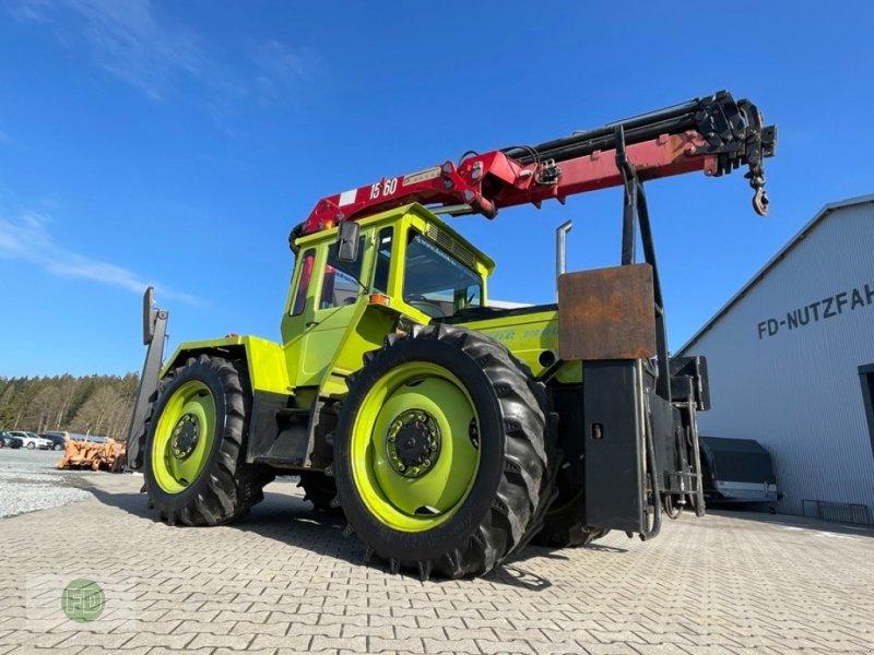 Traktor a típus Mercedes-Benz MB Trac 1300 mit HMF Kran, 15 Meter, Ideal für Tagebau, Zimmerer uvm., Gebrauchtmaschine ekkor: Hinterschmiding (Kép 1)