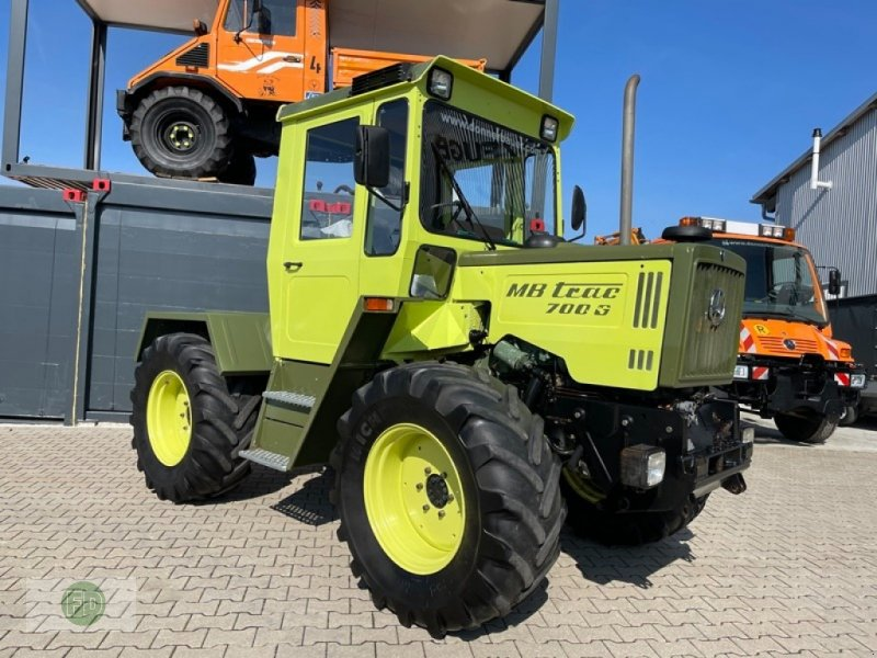 Traktor a típus Mercedes-Benz MB Trac 700 G, Digitaltacho, Wertanlage,, Gebrauchtmaschine ekkor: Hinterschmiding (Kép 1)