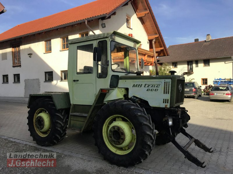 Traktor des Typs Mercedes-Benz MB-Trac 800, Gebrauchtmaschine in Mühldorf (Bild 1)