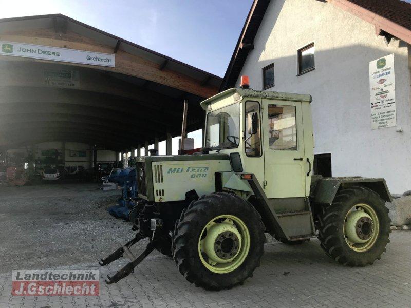 Traktor типа Mercedes-Benz MB-Trac 800, Gebrauchtmaschine в Mühldorf (Фотография 4)