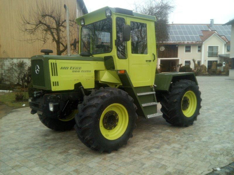 Traktor типа Mercedes-Benz MB-Trac 900, Gebrauchtmaschine в Hemau (Фотография 1)