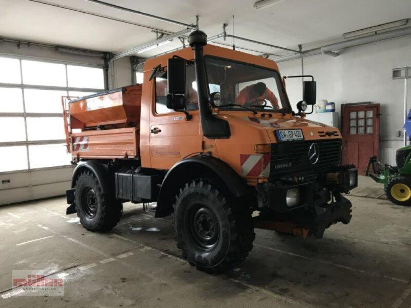 Traktor типа Mercedes-Benz Unimog 1400, Gebrauchtmaschine в Holzhausen (Фотография 1)