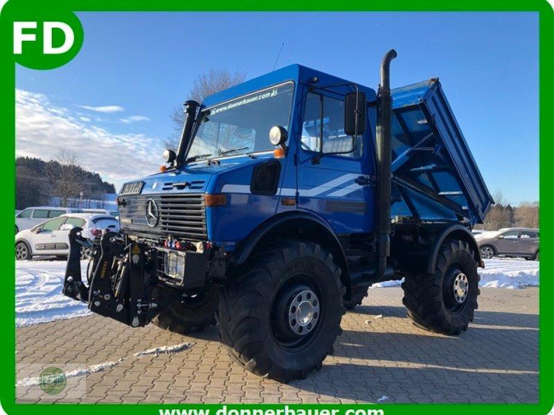 Traktor типа Mercedes-Benz Unimog 1600 Agrar mit Hochdach, Werner Seilwinde, Gebrauchtmaschine в Hinterschmiding (Фотография 1)