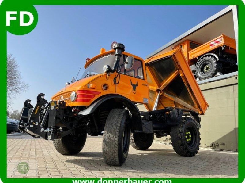 Traktor типа Mercedes-Benz Unimog 406 Agrar, viele Extras, Lieferung möglich, Gebrauchtmaschine в Hinterschmiding (Фотография 1)