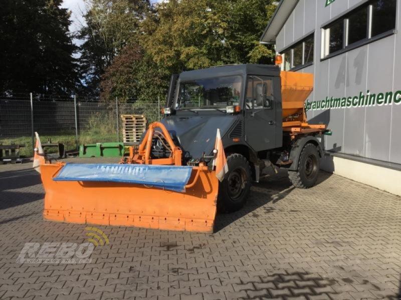 Traktor типа Mercedes-Benz UNIMOG 408/10, Gebrauchtmaschine в Neuenkirchen-Vörden (Фотография 1)