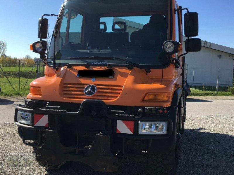 Traktor типа Mercedes-Benz Unimog U 400 6 Zylinder 175 kW, Gebrauchtmaschine в Kienberg (Фотография 1)